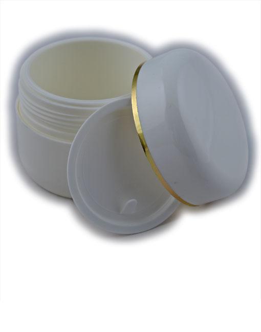 Vasetto-PE-bianco-100cc-oro