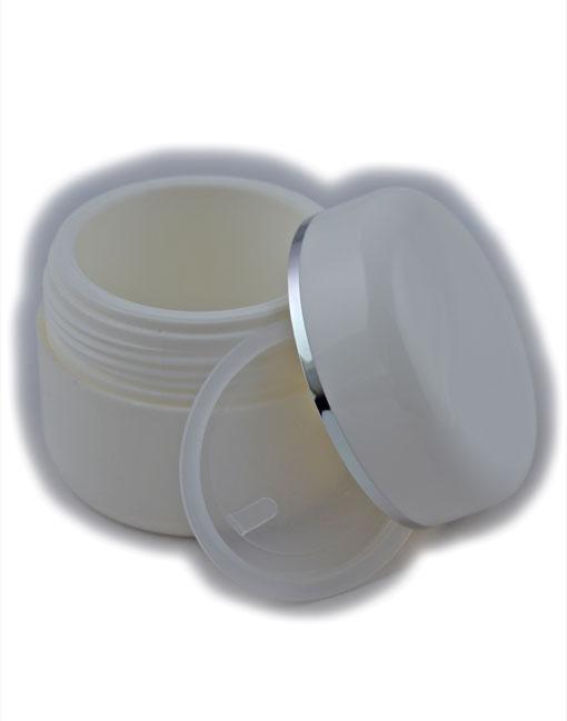 Vasetto-PE-bianco-50cc-argento